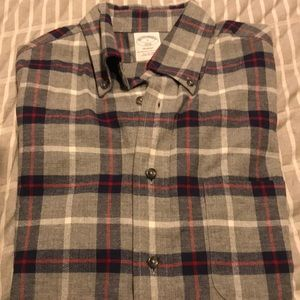 Brooks Brothers men's size S flannel